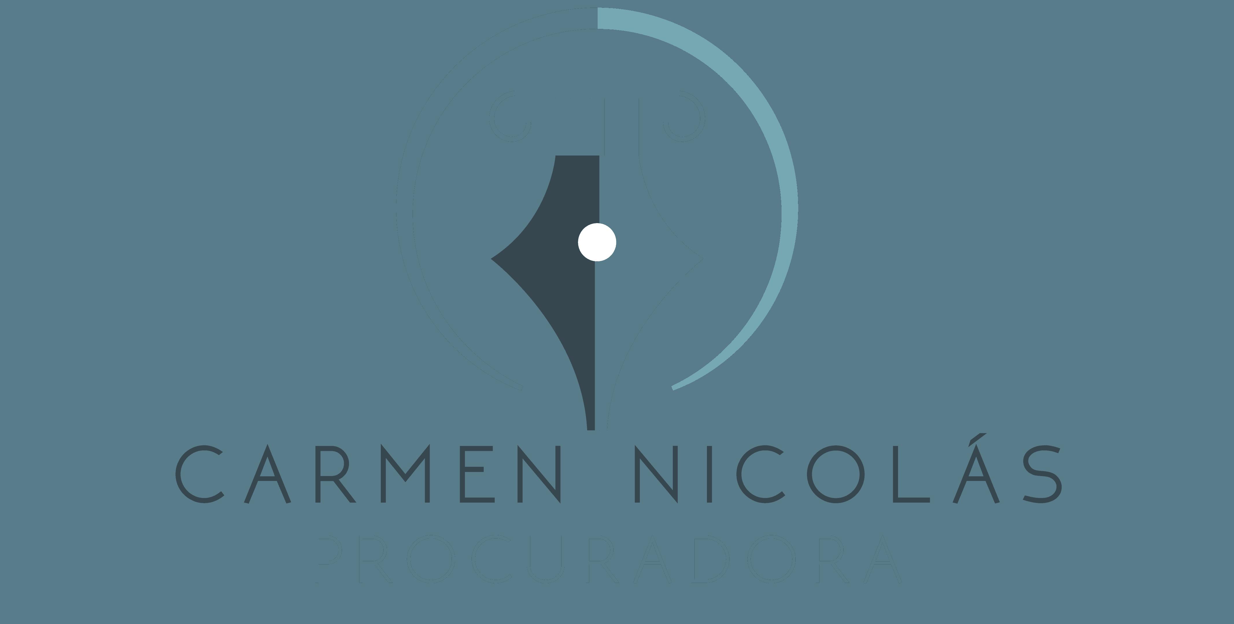 Carmen Nicolás tu procuradora. Facilitamos tu trabajo.